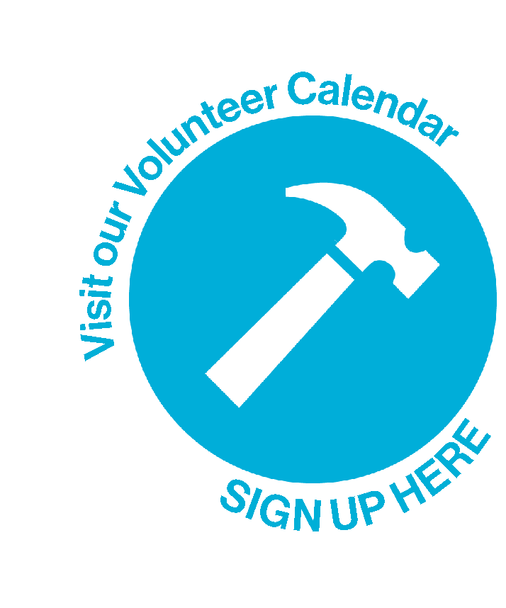 Visit our Volunteer Calendar and Sign Up