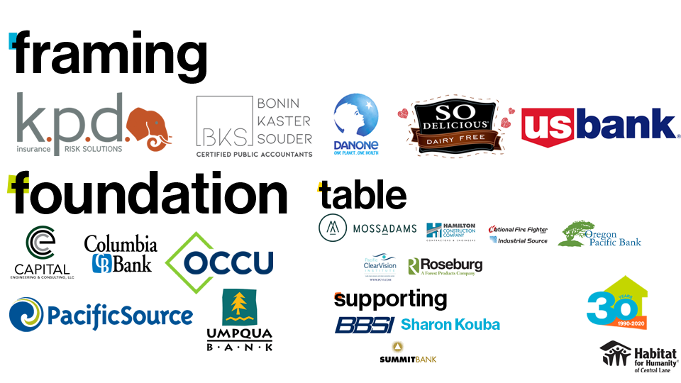 Thank you to all our sponsors for our 30th Anniversary celebration